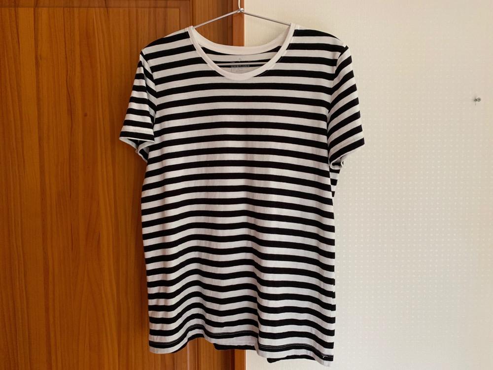 無印良品,Tシャツ,ボーダー