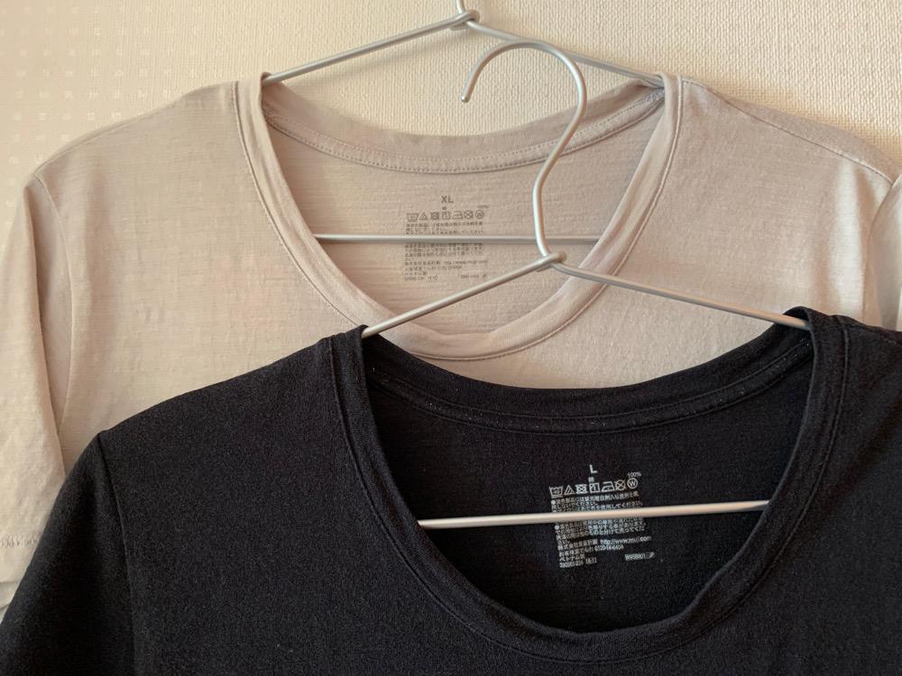 無印良品,ムラ糸天竺編み,Tシャツ